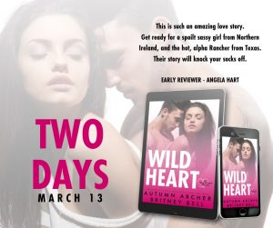 Coming In 2 Days: Wild Heart by Autumn Archer and Britney Bell