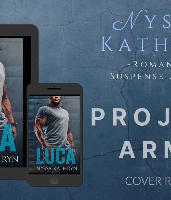 Cover Reveal: Luca by Nyssa Kathryn