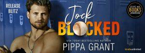 Release Blitz: Jock Blocked by Pippa Grant