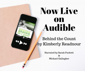 Audiobook Release Blitz: Behind the Count By Kimberly Readnour