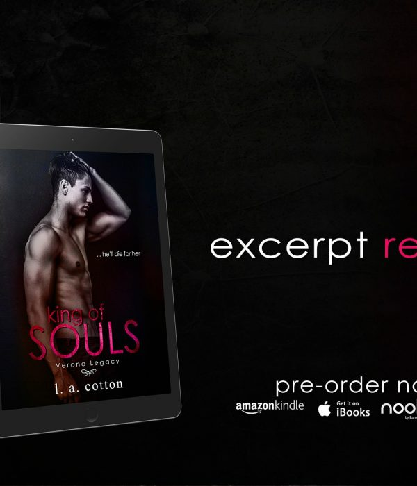 Excerpt Reveal: King of Souls by L. A. Cotton