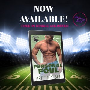 Release Blitz: Personal Foul by Britney Bell