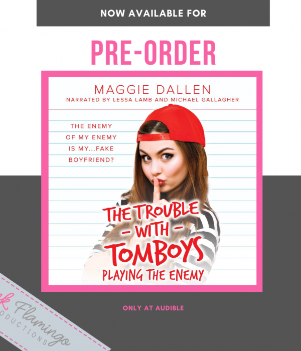 Audiobook Pre-Order Blitz: Playing the Enemy by Maggie Dallon