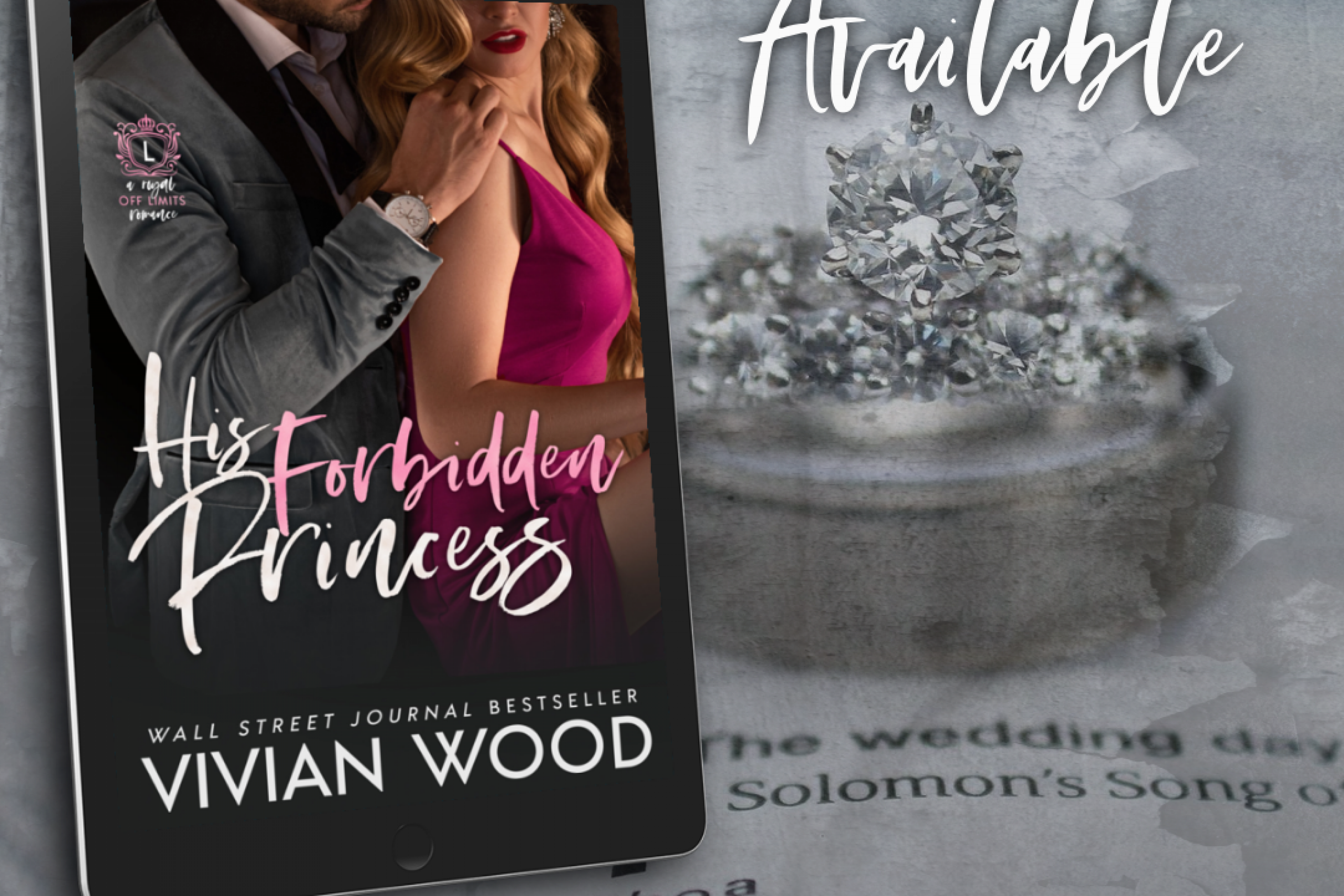Now Live + Giveaway: His Forbidden Princess by Vivian Wood