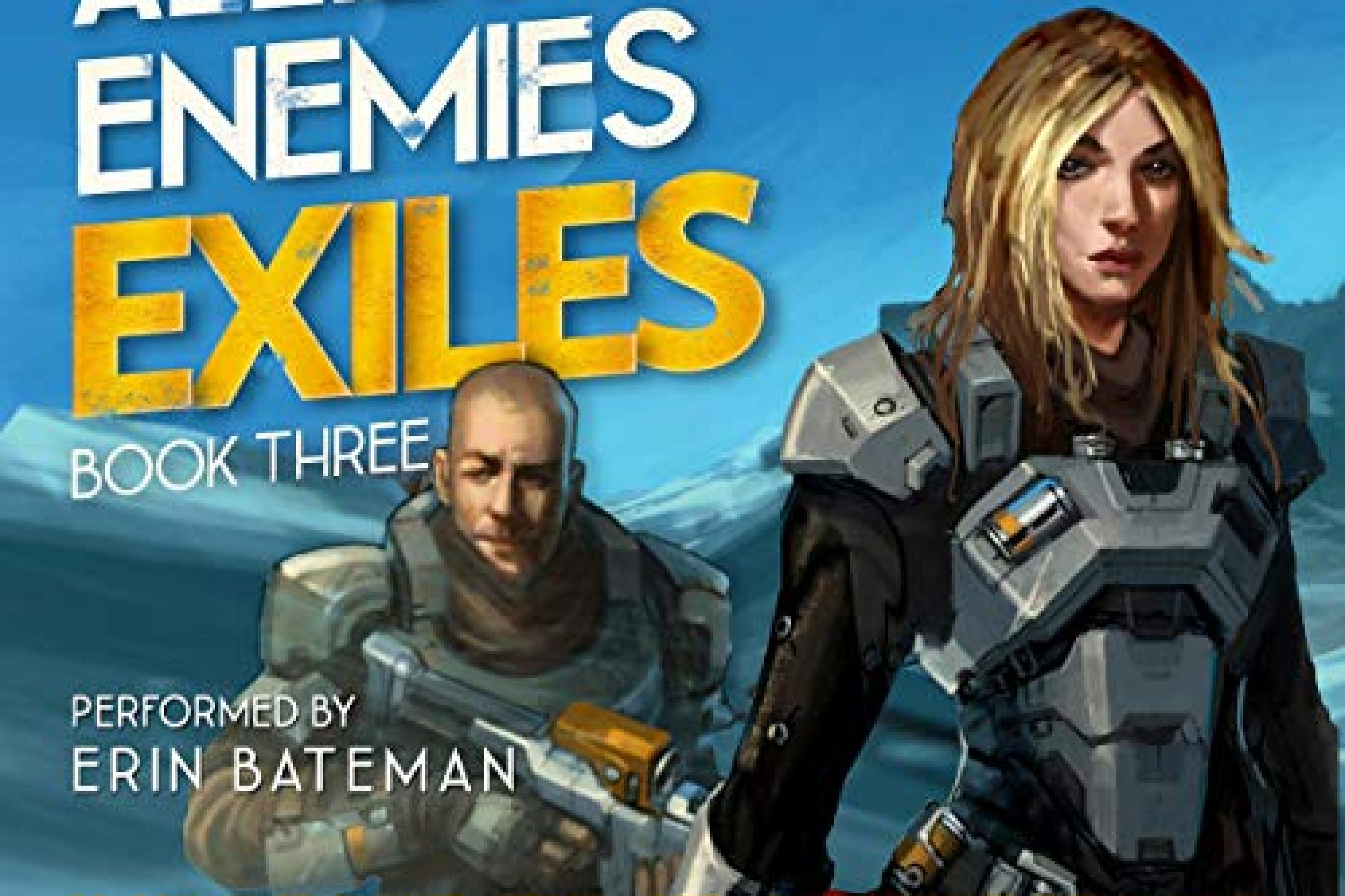 Audiobook Review: Allies and Enemies: Exiles by Amy J. Murphy