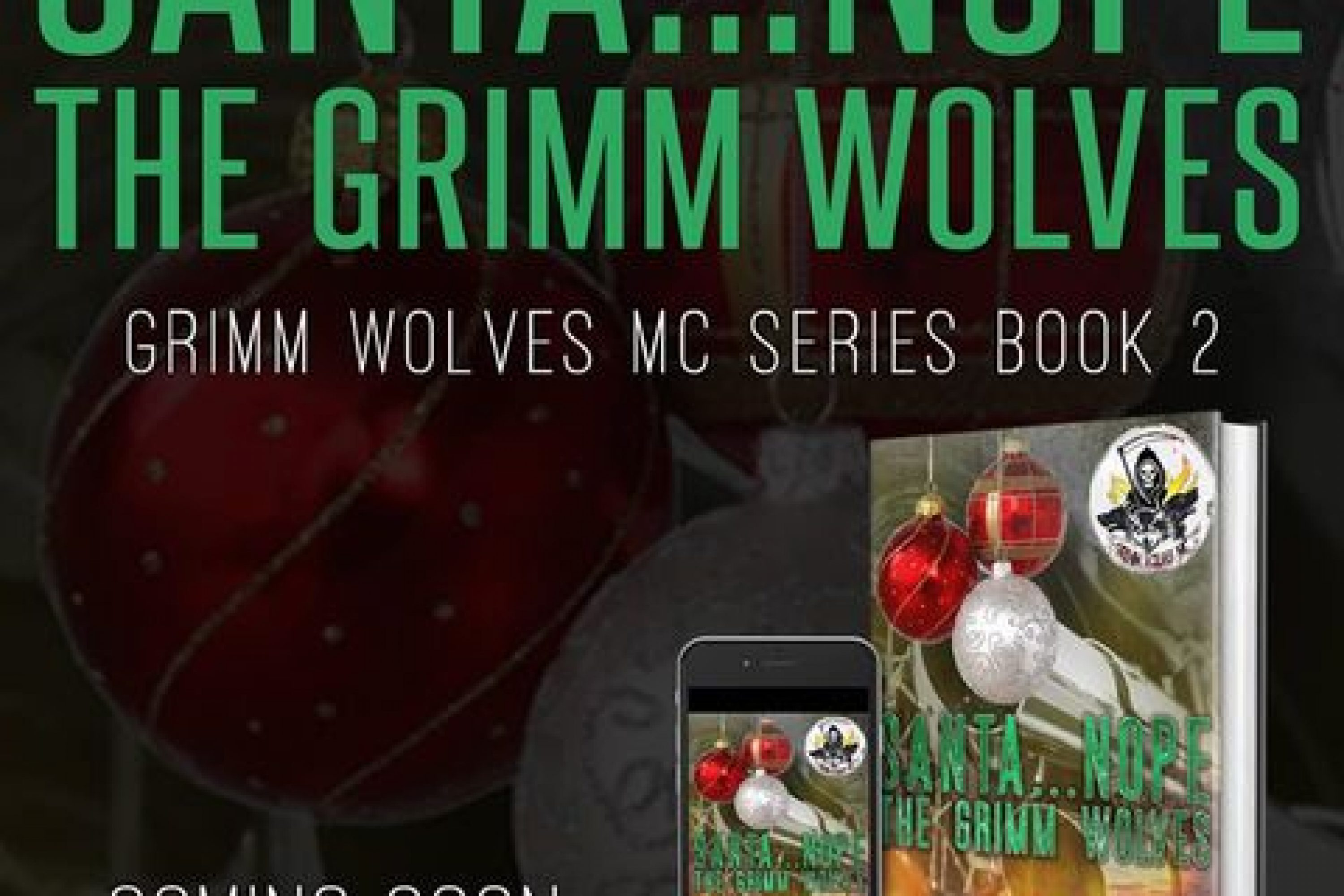 Cover Reveal: Santa…Nope The Grimm Wolves by D M Earl