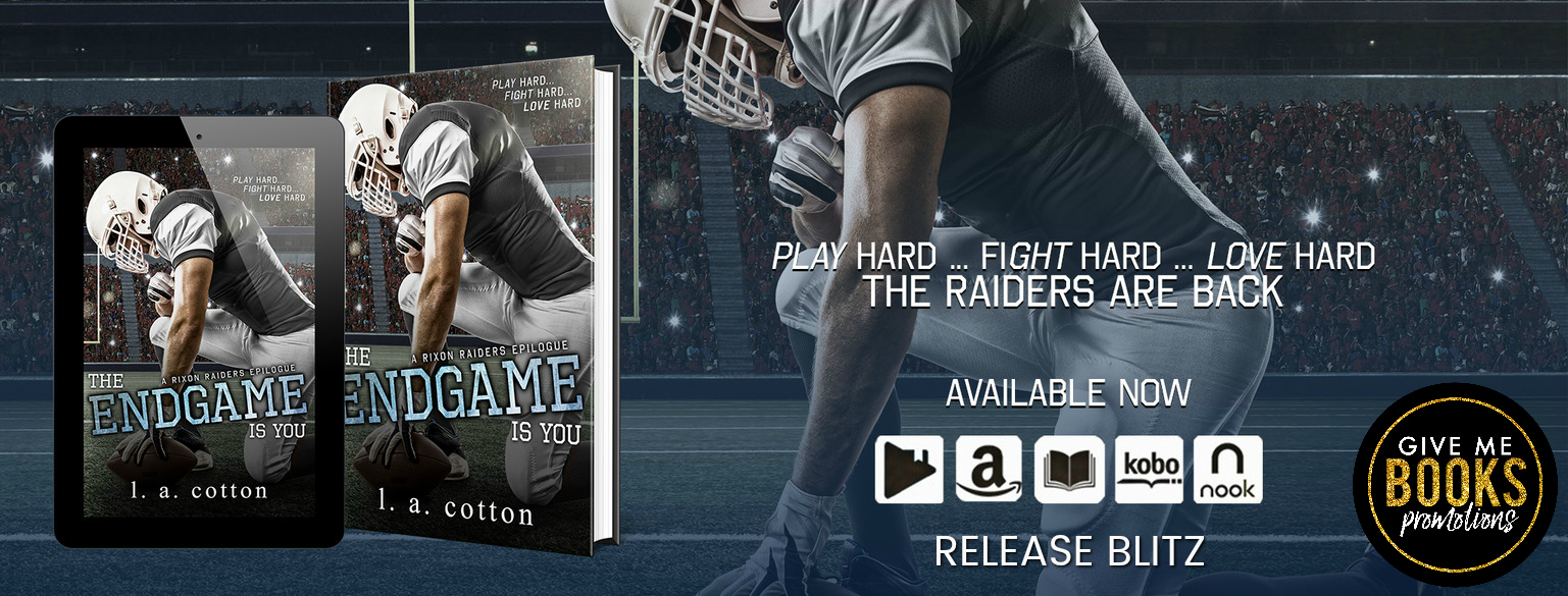 Release Blitz: The Endgame Is You by L. A. Cotton