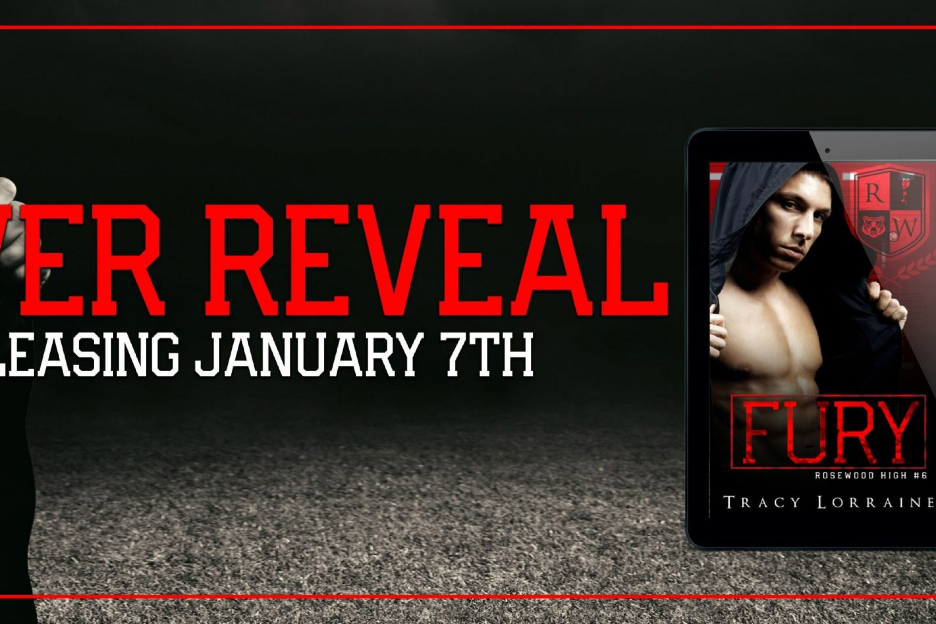 Cover Reveal: Fury by Tracy Lorraine