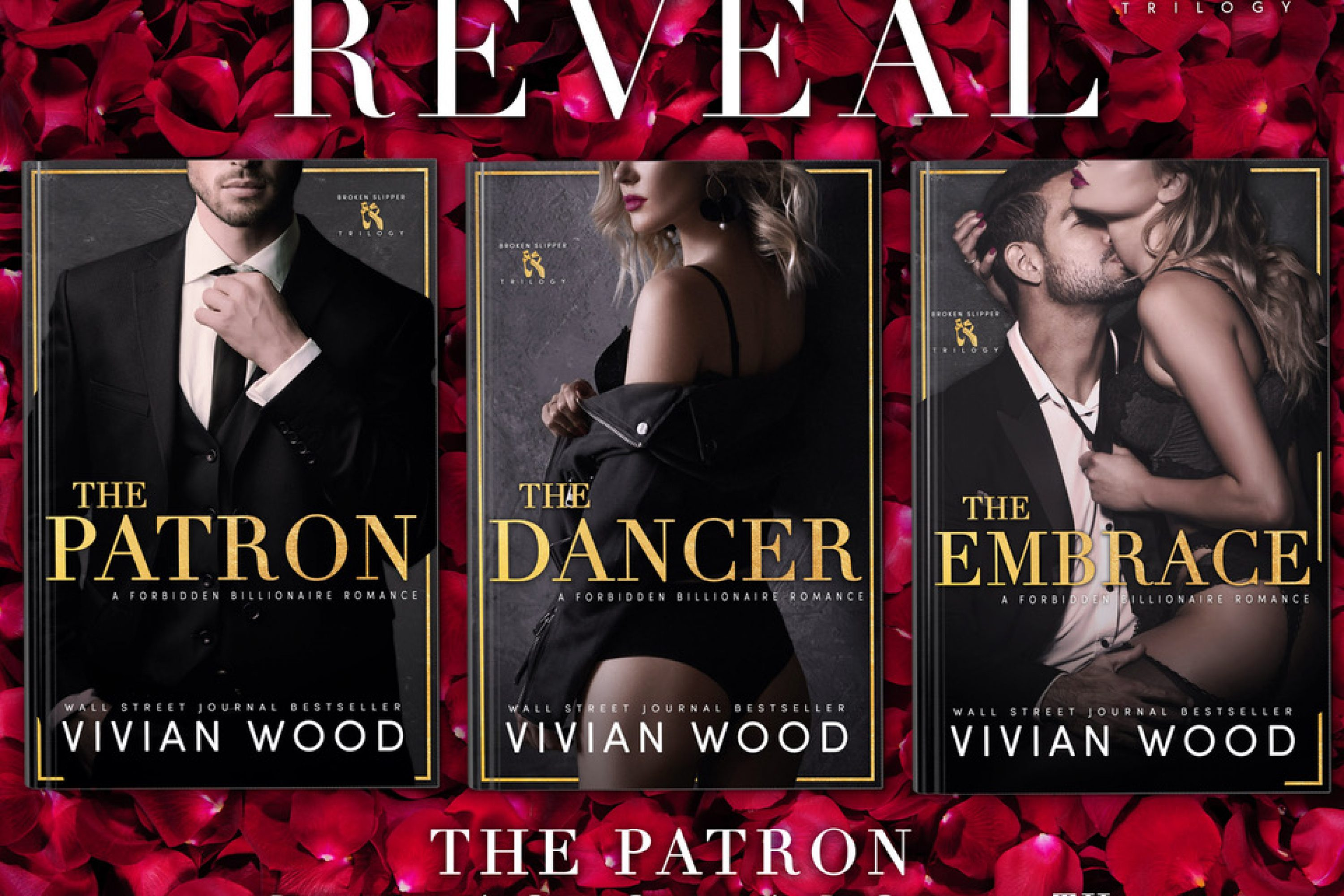 Cover Reveal: Broken Slipper Trilogy by Vivian Wood