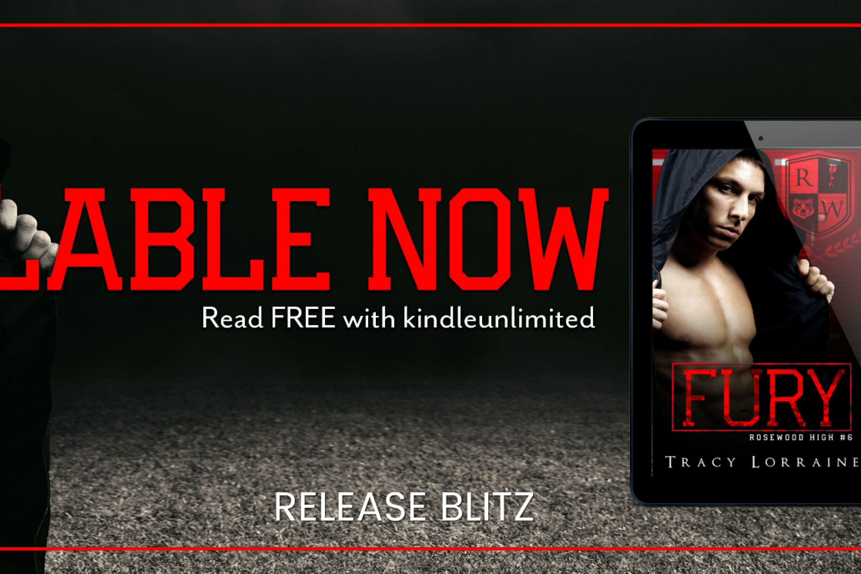 Release Blitz: Fury by Tracy Lorraine
