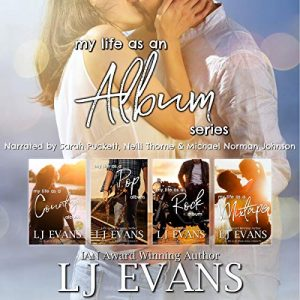 Audiobook Review Tour: My Life as an Album Series by LJ Evans