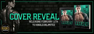 Cover Reveal: Legend by Tracy Lorraine