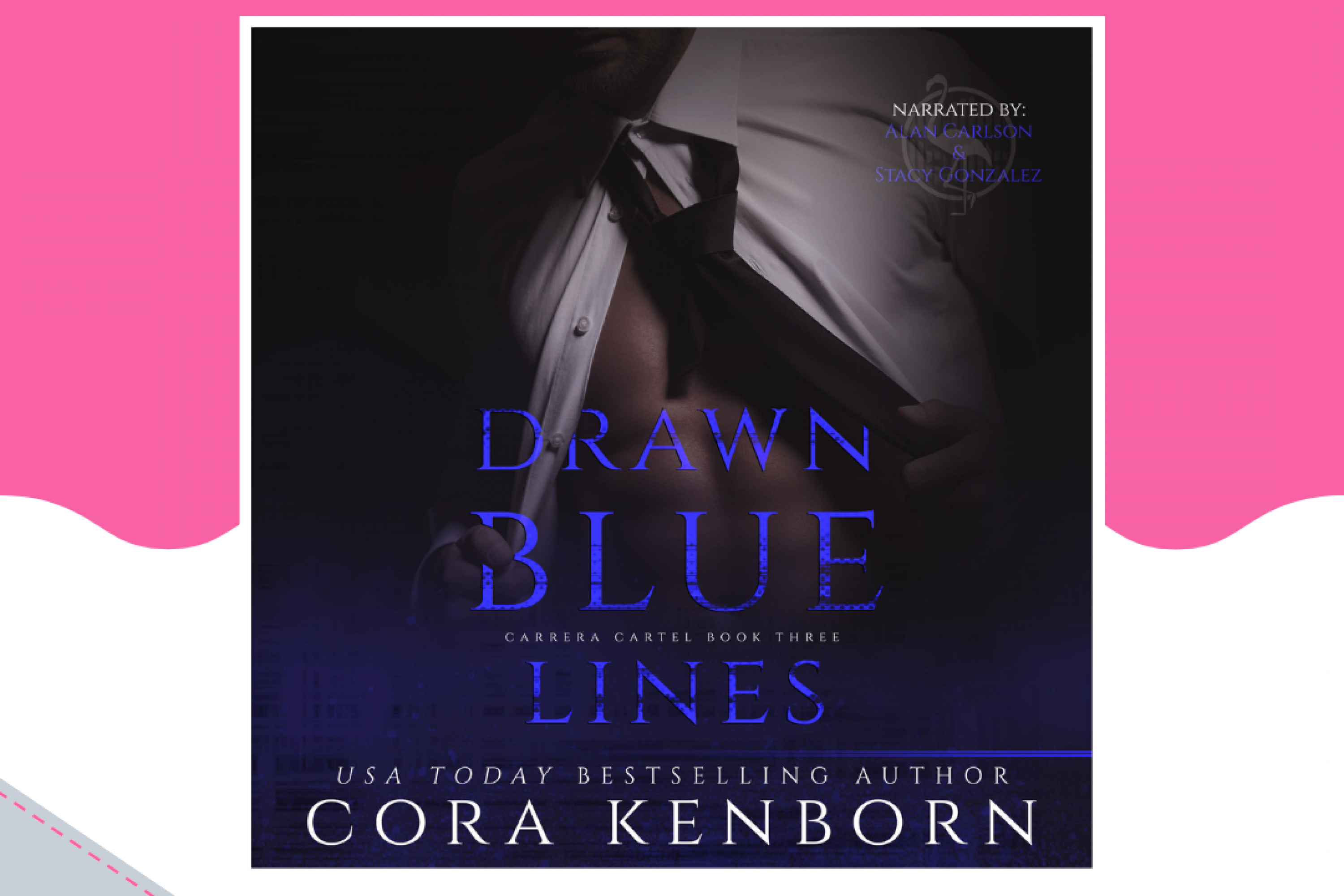 Release Blitz: Drawn Blue Lines by Cora Kenborn