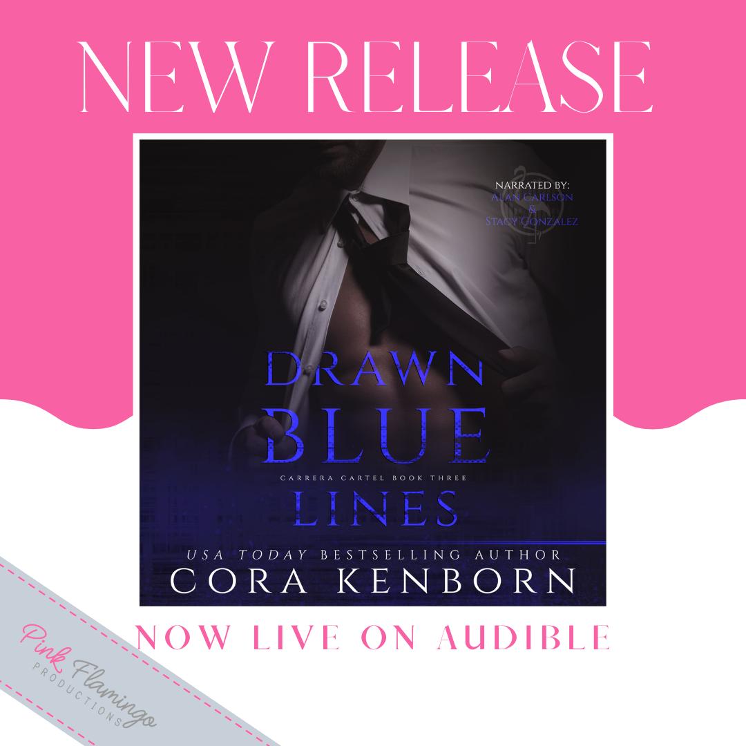 Release Blitz: Drawn Blue Lines by Cora Kenborn