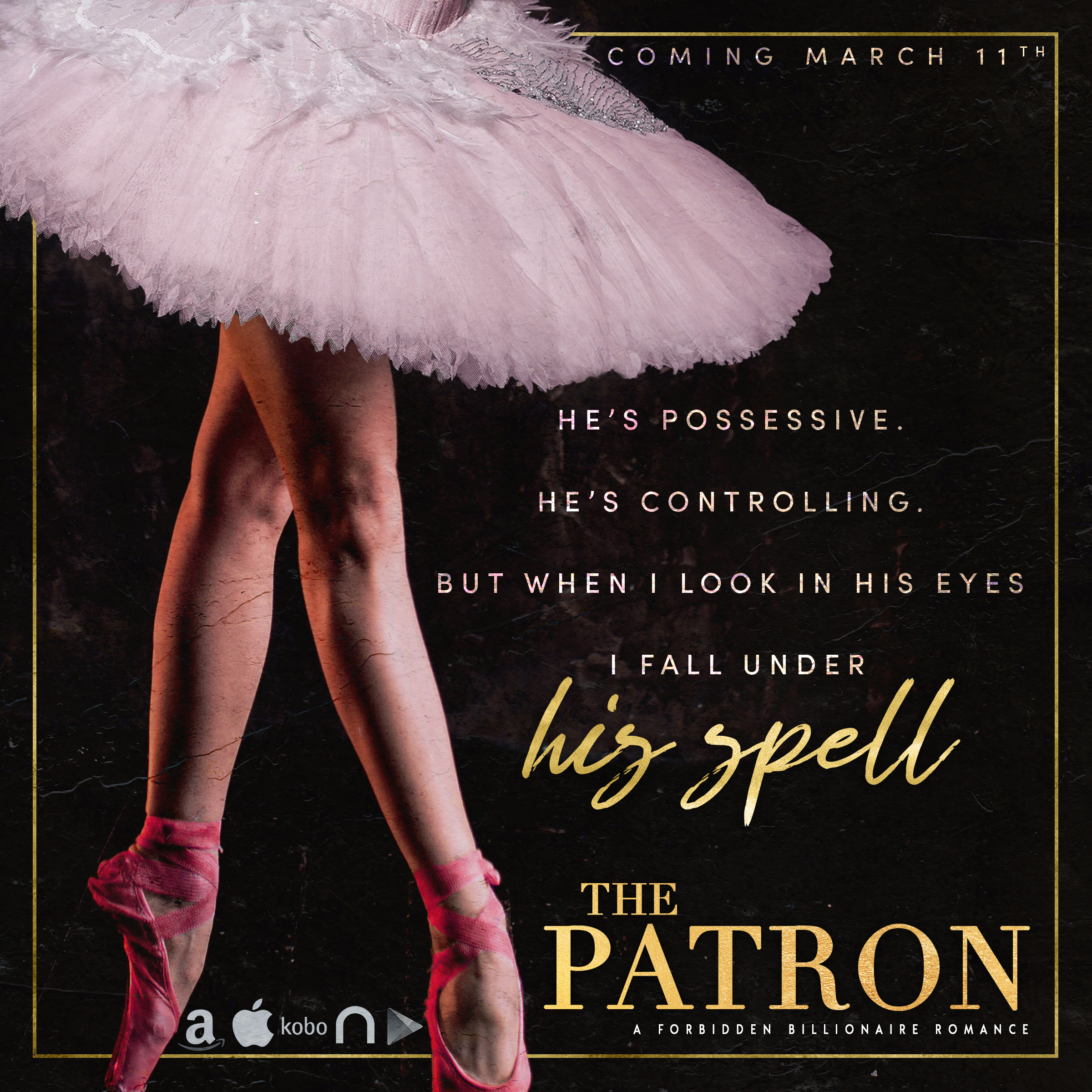New Teaser and Except for The Patron by Vivian Wood