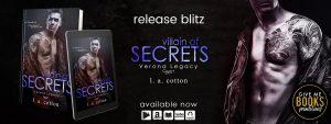 Release Blitz: Villain of Secrets by L. A. Cotton