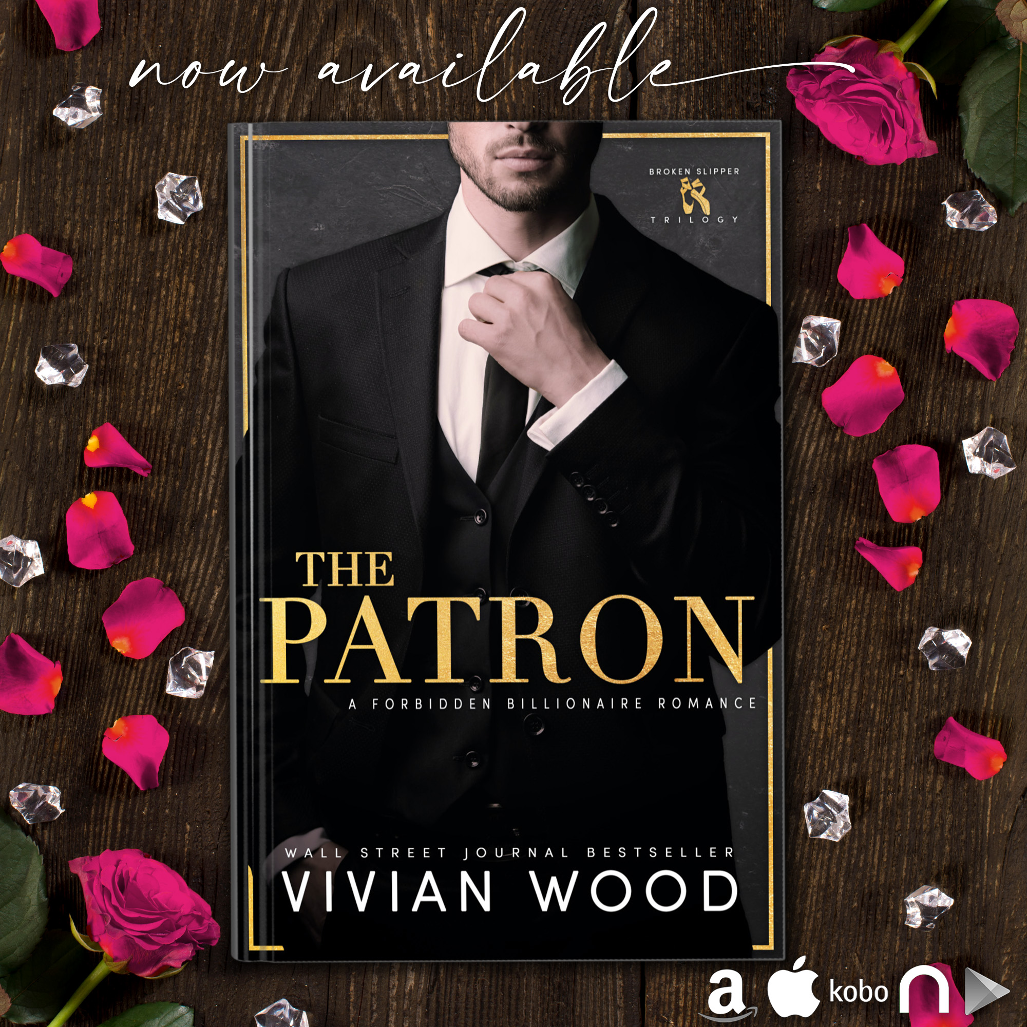 Now Live: The Patron by Vivian Wood