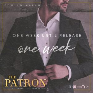 The final teaser for Vivian Wood's The Patron!