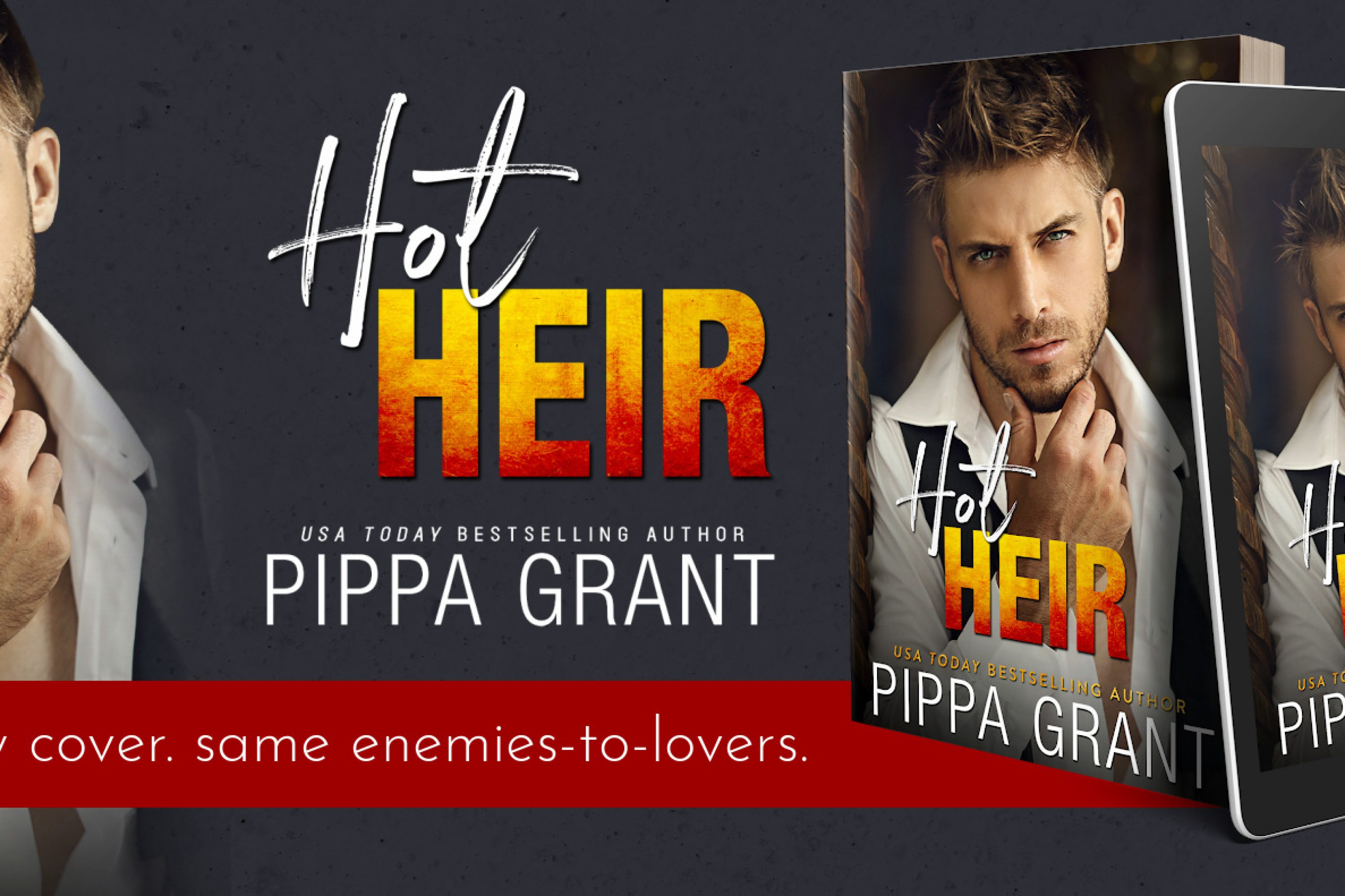 Cover Re-Reveal: Hot Heir by Pippa Grant