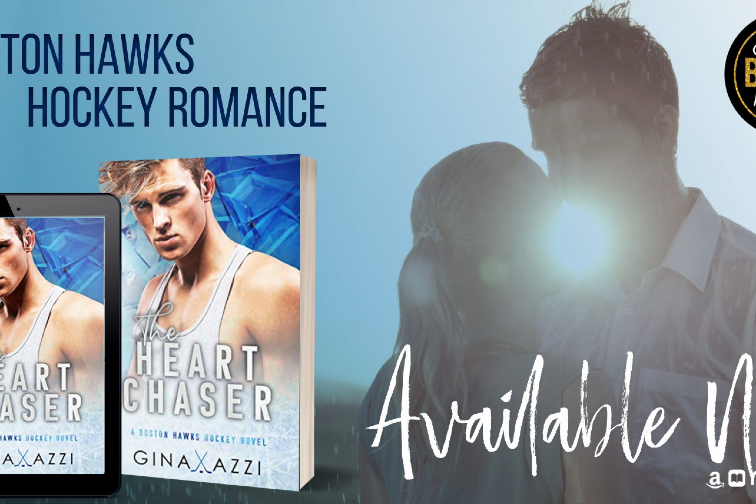 Release Blitz: The Heart Chaser by Gina Azzi